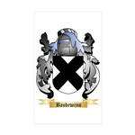 Baudewijns Sticker (Rectangle 50 pk)
