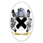 Baudewijns Sticker (Oval 10 pk)