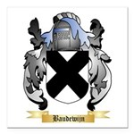 Baudewijn Square Car Magnet 3