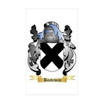 Baudewijn Sticker (Rectangle 50 pk)