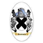 Baudewijn Sticker (Oval 10 pk)