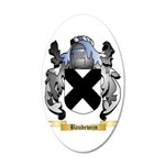 Baudewijn 35x21 Oval Wall Decal