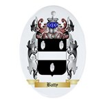 Batty Ornament (Oval)