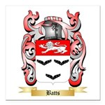 Batts Square Car Magnet 3
