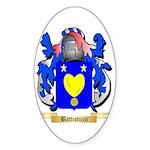 Battistuzzi Sticker (Oval 50 pk)