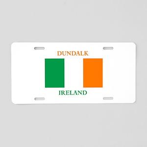 Dundalk Ireland Aluminum License Plate