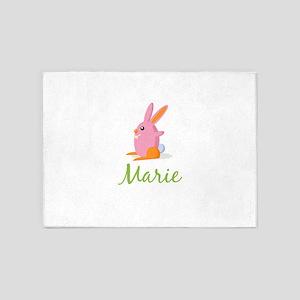 Easter Bunny Marie 5'x7'Area Rug
