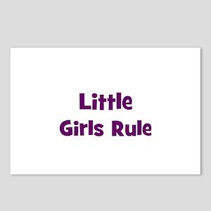 little girls rule Postcards (Package of 8)