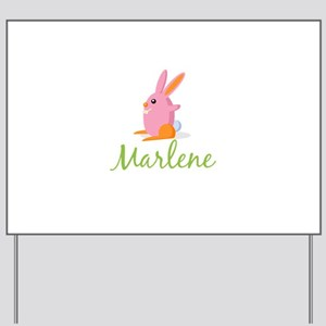 Easter Bunny Marlene Yard Sign