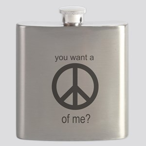 Peace by Piece Flask