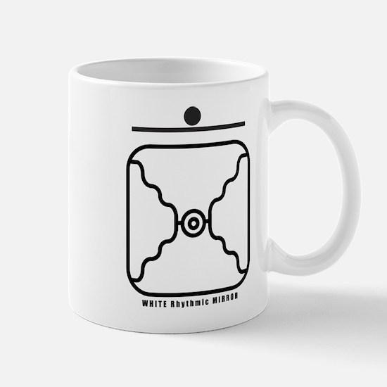 WHITE Rhythmic MIRROR Mug
