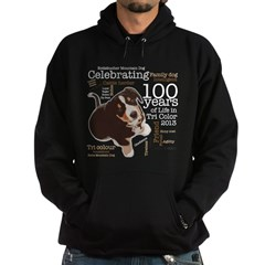 Entlebucher Mountain Dog 100 Year Jubilee Hoody