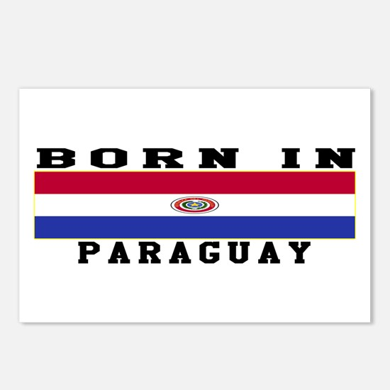 Born In Paraguay Postcards (Package of 8)