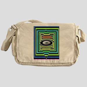OPTICAL EYE Messenger Bag