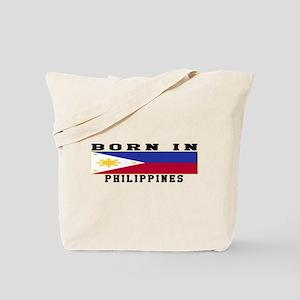 Born In Philippines Tote Bag