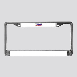 Born In Philippines License Plate Frame