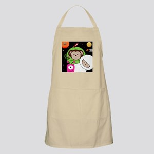 Monkeys In Space Aliens Rockets Apron
