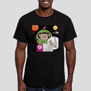 Monkeys In Space Aliens Rockets T-Shirt
