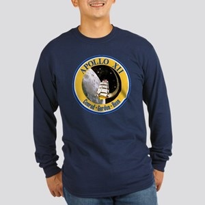 Apollo 12 Long Sleeve Dark T-Shirt