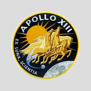 """Apollo 13 3.5"""" Button"""