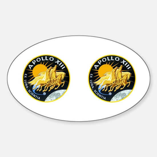 Apollo 13 Sticker (Oval)