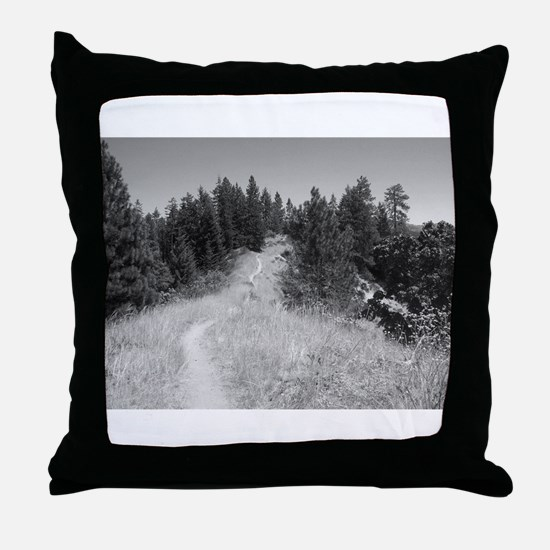 mountain bike shirt Throw Pillow
