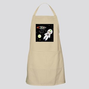 Monkeys In Space Aliens Space Walk Apron