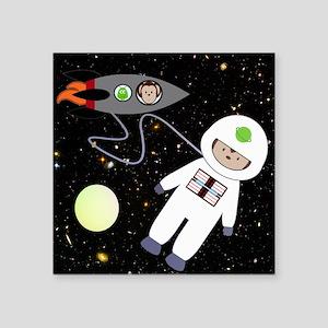 Monkeys In Space Aliens Space Walk Sticker