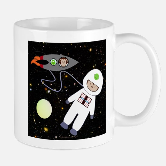 Monkeys In Space Aliens Space Walk Mug