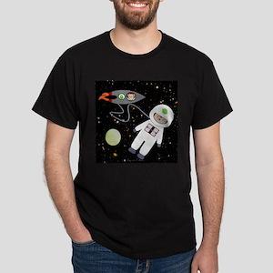 Monkeys In Space Aliens Space Walk T-Shirt