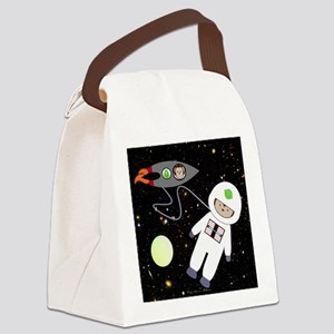 Monkeys In Space Aliens Space Walk Canvas Lunch Ba