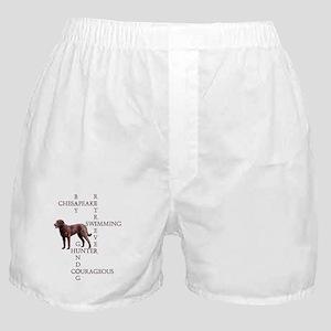CHESSIE CROSSWORD Boxer Shorts
