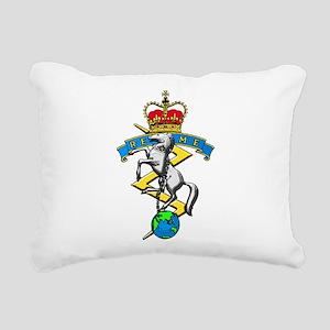 REME badge Rectangular Canvas Pillow