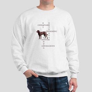 CHESSIE CROSSWORD Sweatshirt