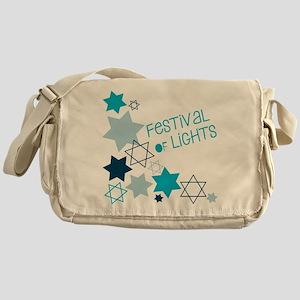 Festival Of Lights Messenger Bag