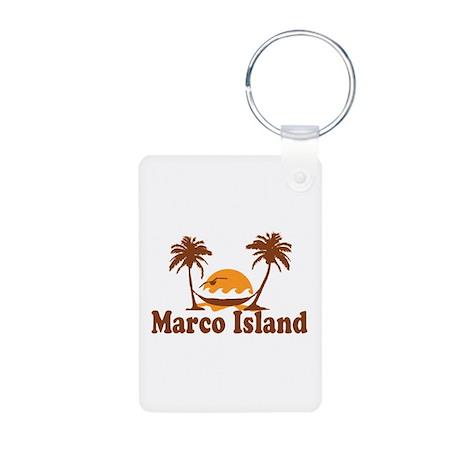 Marco Island - Palm Trees Design. Aluminum Photo K
