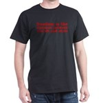 Separation of Church and State Dark T-Shirt