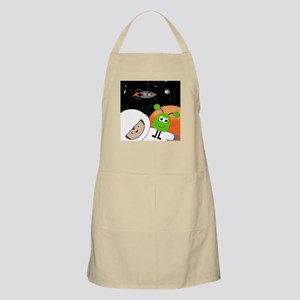 Monkeys In Space Aliens Floating Apron