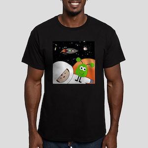 Monkeys In Space Aliens Floating T-Shirt