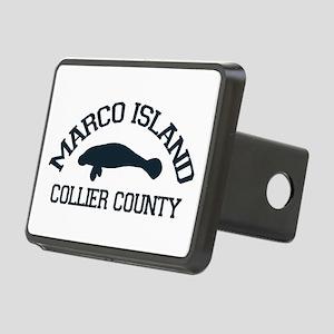 Marco Island - Manatee Design. Rectangular Hitch C