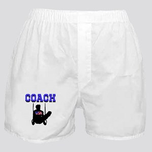 #1 GYMNAST COACH Boxer Shorts