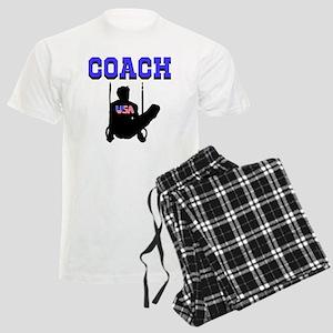 #1 GYMNAST COACH Men's Light Pajamas