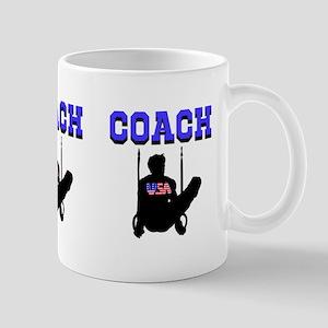 #1 GYMNAST COACH Mug