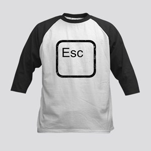 Esc Key Kids Baseball Jersey