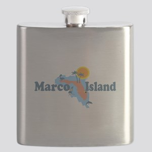 Marco Island - Map Design. Flask
