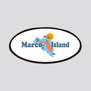 Marco Island - Map Design. Patches