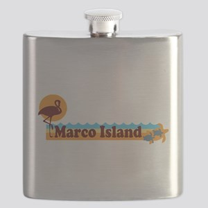 Marco Island - Beach Design. Flask