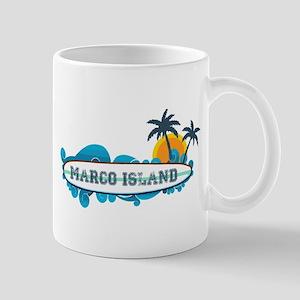 Marco Island - Surf Design. Mug
