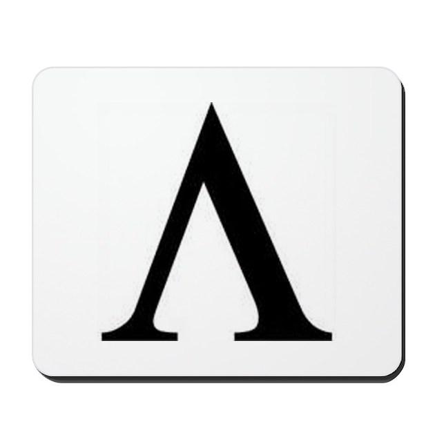 Greek Lambda Spartan Symbol Mousepad By Listing Store 108881946