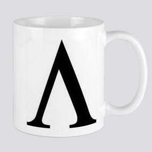 Greek Lambda Spartan Symbol Mug